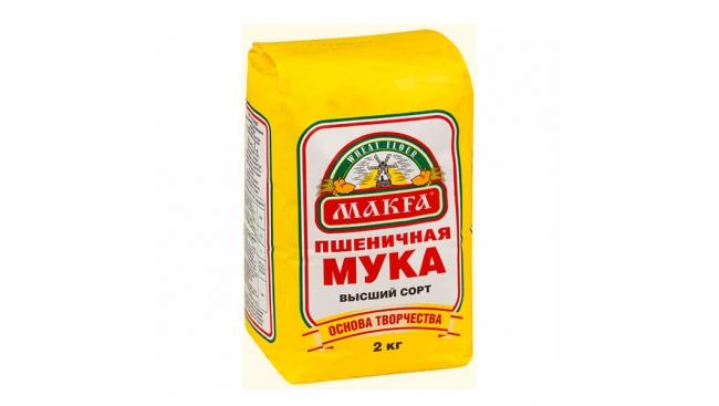 Мука Макфа 2кг пшеничная