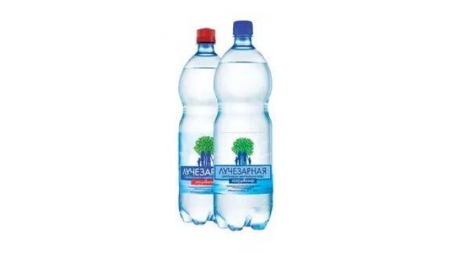 Питьевая вода 1,5л Лучезарная газированная