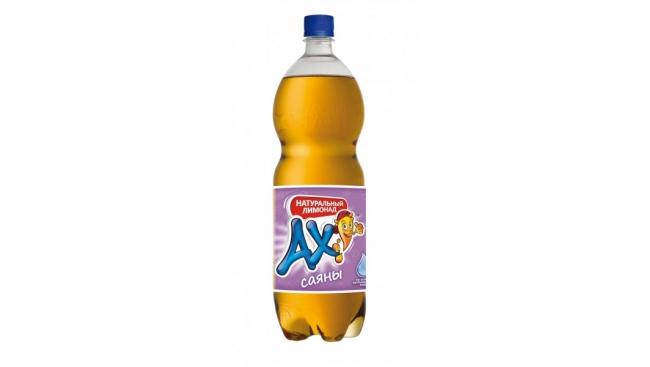 """Напиток газированный """"АХ!"""" 1,5л Саяны"""