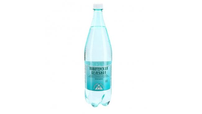 Минеральная вода Новотерская 1,5л газ.