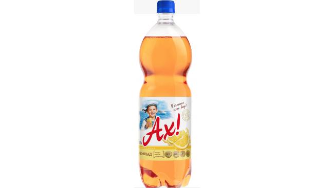 """Напиток газированный """"АХ!"""" 1,5л Лимонад"""
