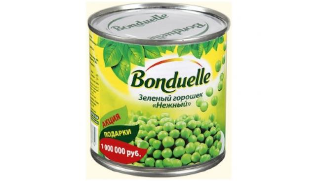 Зеленый горошек Бондюэль 400г