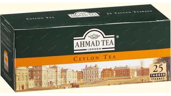 Чай Ахмад 25 пак.Цейлонский