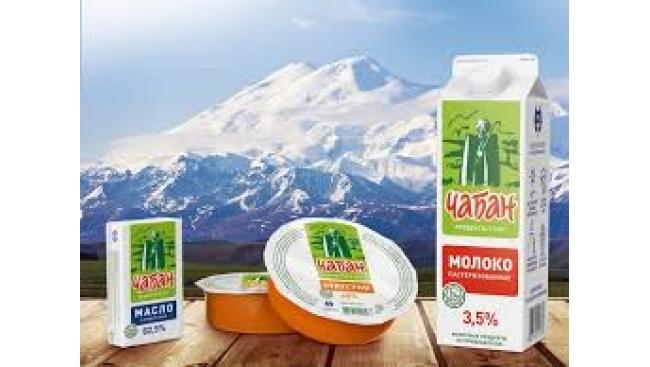 Молоко 3,5% Чабан