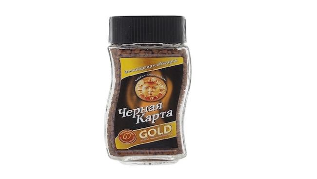 Кофе Черная Карта Gold 95г