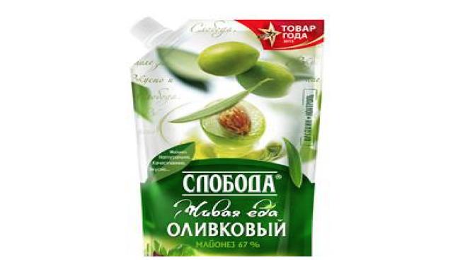 Майонез Слобода оливк.