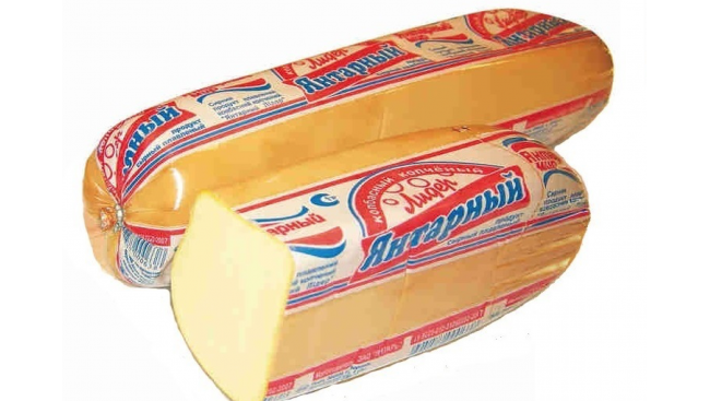 Сырный Продукт Колбасный Янтарь 45% м.д.ж.